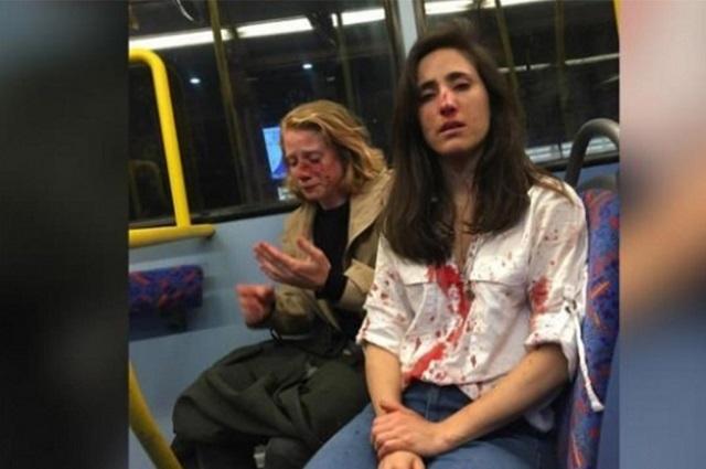 Golpean a pareja de mujeres lesbianas en Londres