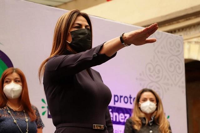 Blanca Jiménez encabeza Mujeres de Avanzada, en Puebla