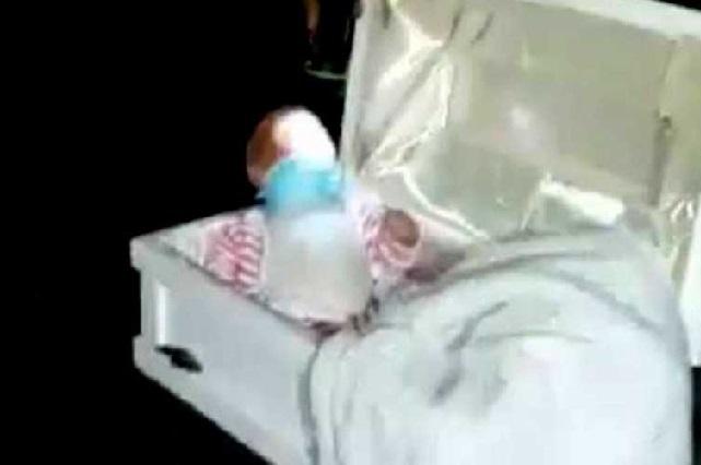 Mujer engaña a su esposo con muerte de falso bebé para que no la deje