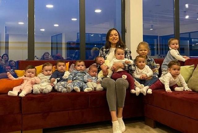 Joven de 23 años tiene 11 hijos y espera tener 90 más