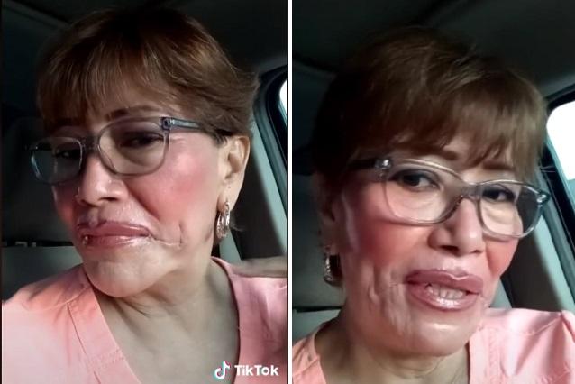 Videos: Mujer se pega la piel con Kola Loka para hacerle broma a su hija