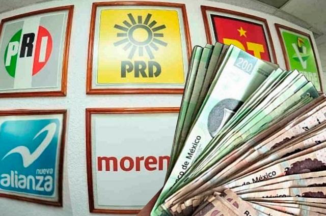 Por caos financiero multan a partidos de Puebla con 18.3 mdp