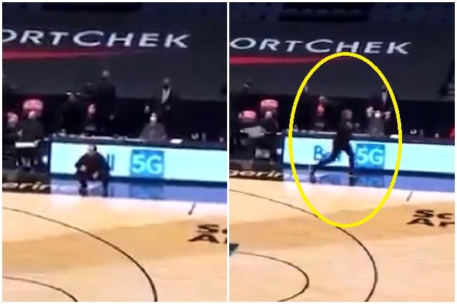 NBA multa a coach de los Raptors por lanzar su cubrebocas a las gradas