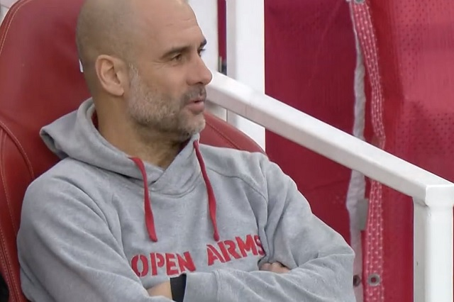 UEFA impondría multa a Guardiola por utilizar sudadera de campaña activista
