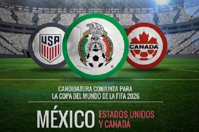 El Mundial de Futbol 2026 se jugará en México, Canadá y EU