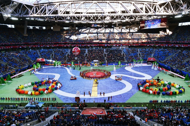 Inicia el Mundial de Futbol Rusia 2018