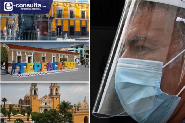 Duplican contagios municipios de Puebla con Nueva Normalidad