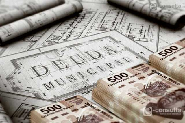 Puebla, donde más contratan deuda los entes municipales