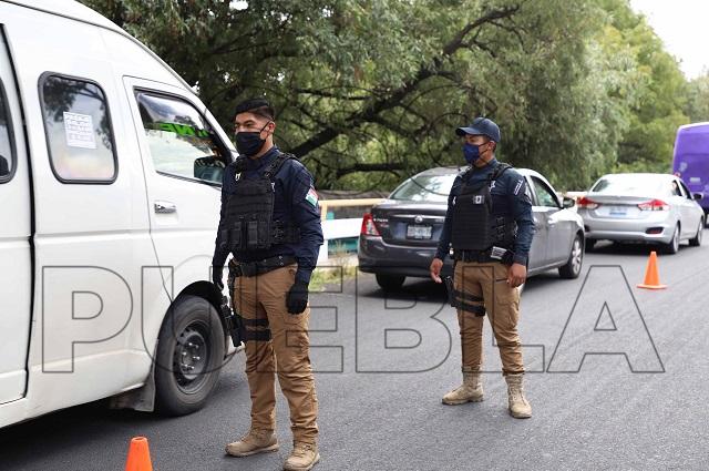 Detuvo la policía municipal de Puebla a 129 personas