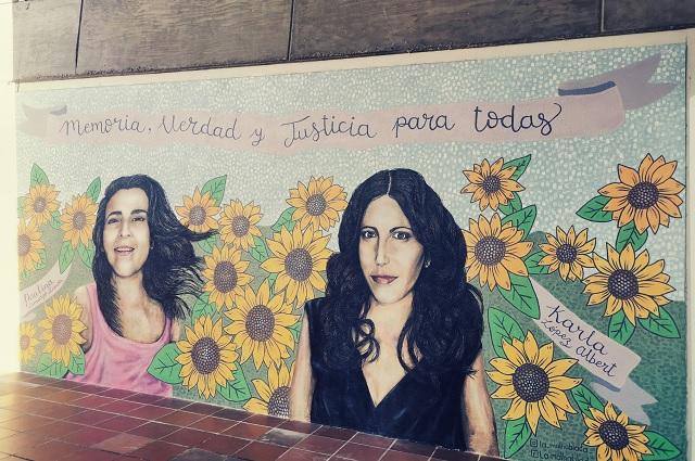 Develan en la Ibero mural para Karla López y Paulina Camargo