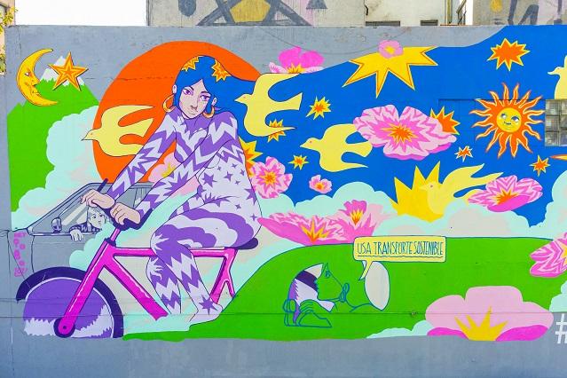 Mira los murales ecológicos realizados en la Ciudad de México