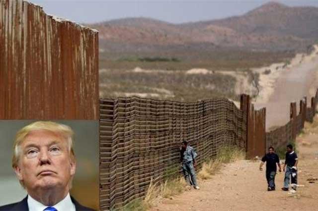 El muro de Trump tendrá 9 metros de alto y será de un color agradable