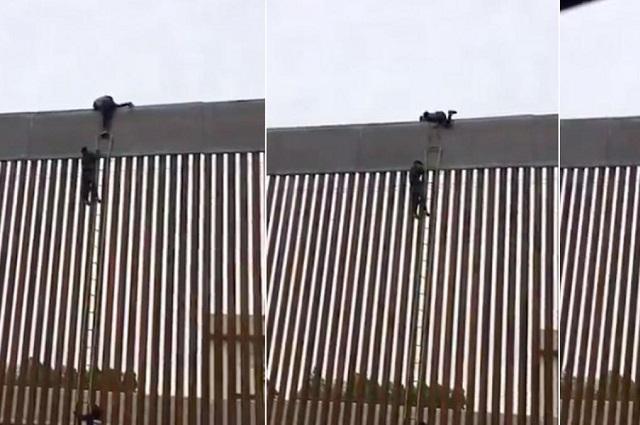 Trump le echa otro tramo al muro fronterizo con México
