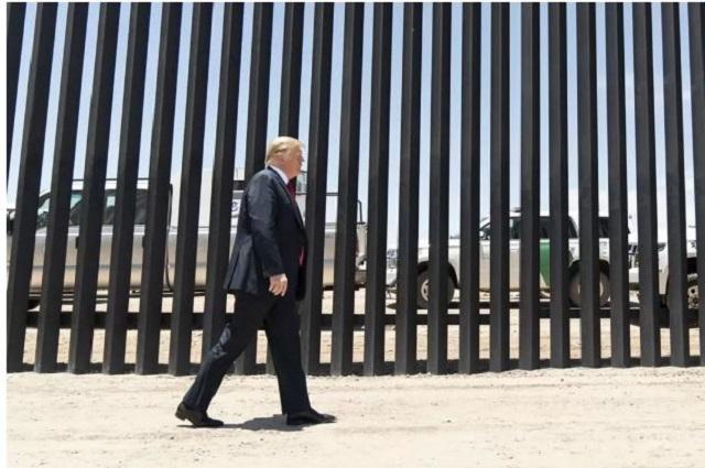 Trump se despide de AMLO y lo elogia por control en frontera