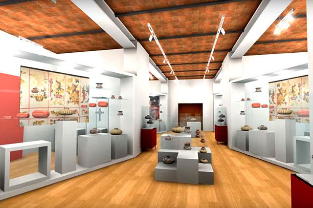 Difunden proyecto interior del Museo Regional de Cholula