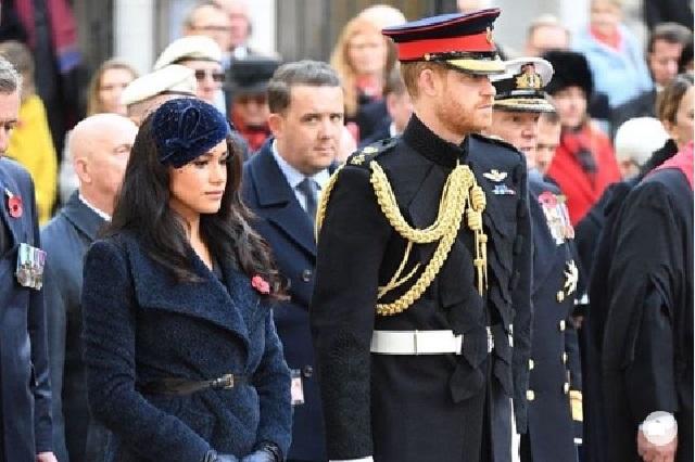 Museo separa figuras de Harry y Meghan del resto de la familia real
