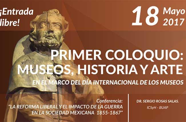 Invitan a coloquio sobre museos e historia en Museo Regional de Puebla