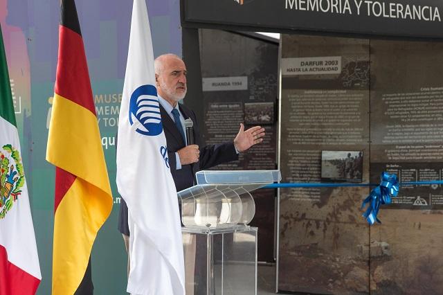 """Museo Memoria y Tolerancia """"viaja en túnel"""" al Tec de Monterrey"""