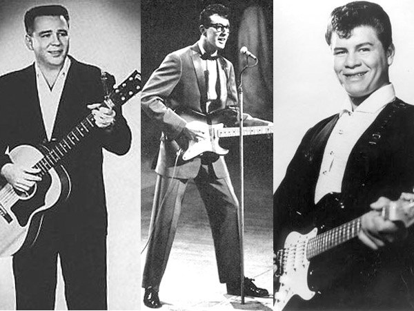 Buddy Holly, Ritchie Valens y The Big Bopper murieron hace 57 años