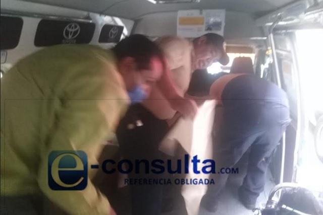 ¡Qué padre! Nace bebé a bordo de transporte público en Puebla