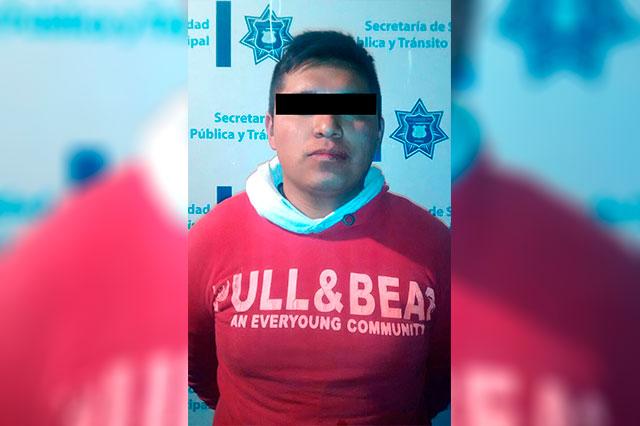 Acusado por robo a transeúnte, fue detenido por municipales