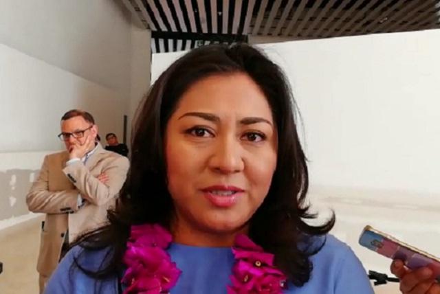 Mario Marín no es mi padrino político, refuta Nadia Navarro