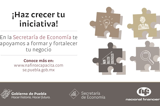 NAFIN y Secretaría de Economía capacitan a poblanos en negocios