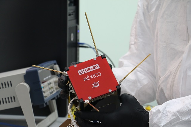 Nanosatélite UPAEP va al espacio para ser sometido a pruebas