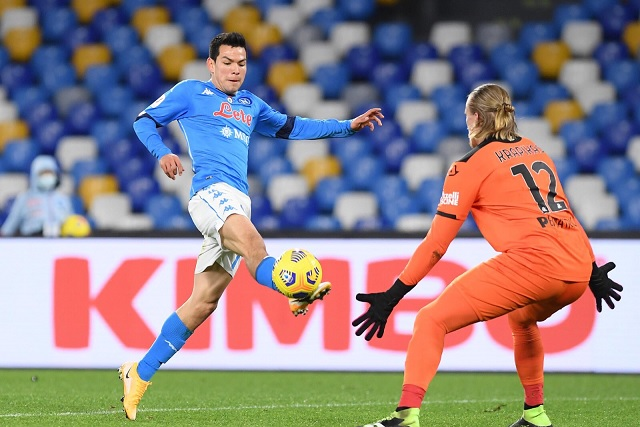 Napoli clasifica a semifinales de Copa Italia; 'Chucky' vuelve a anotar