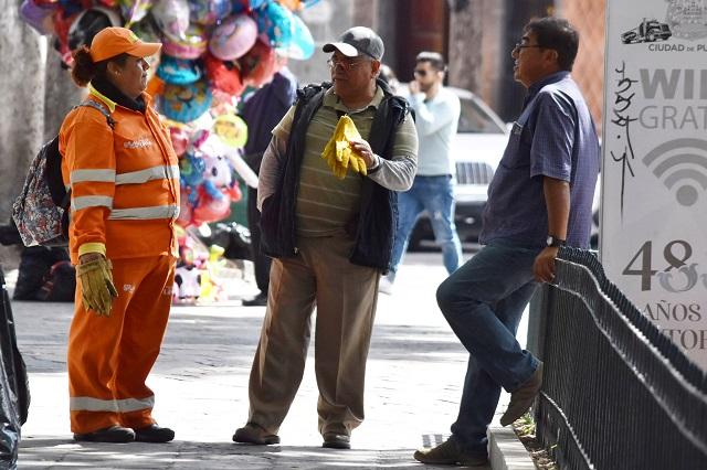 Piden naranjitas a Barbosa intervenir en conflicto sindical