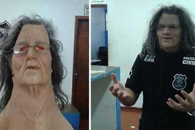 Narco intenta fugarse de prisión con disfraz de abuelita
