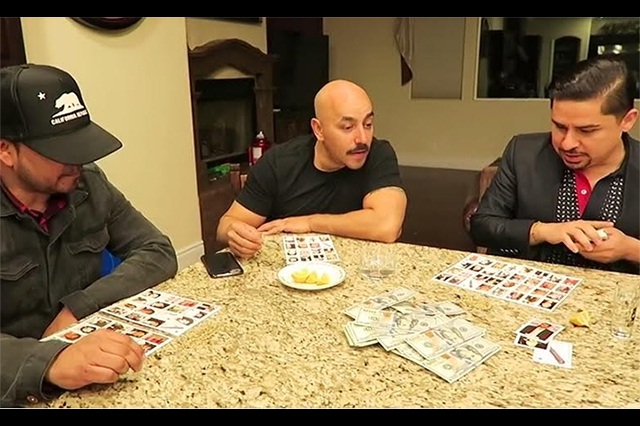 Larry Hernández y Lupillo Rivera juegan y apuestan a la narco-lotería