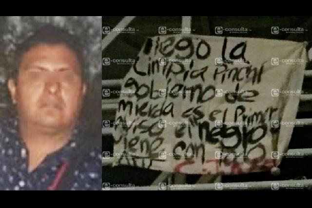 Narcomantas, parte de plan de El Negro para desplazar a El Grillo