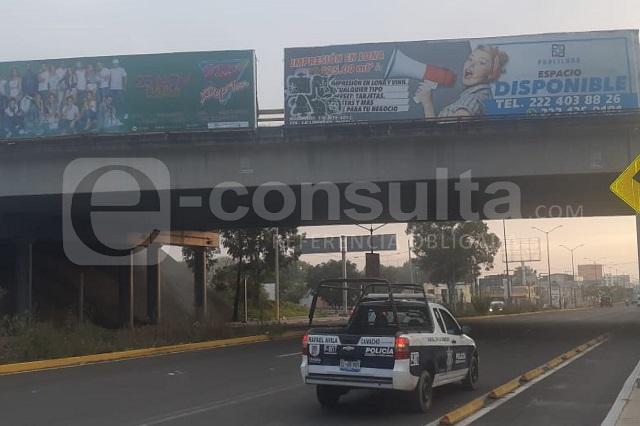 Narcomantas en Puebla culpan a Yunes de violencia en Veracruz