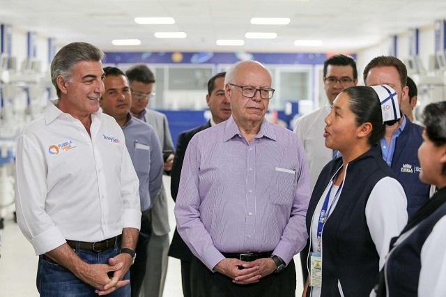 Reconoce Narro Robles avances de Puebla en salud pública