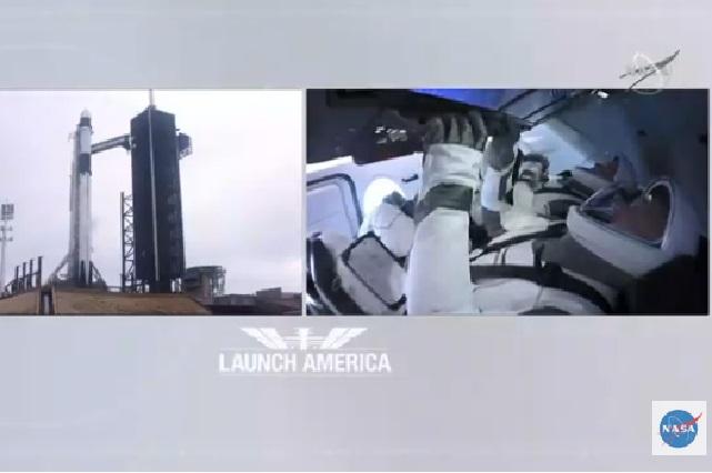 En vivo: Mira el lanzamiento de la misión tripulada de SpaceX y NASA