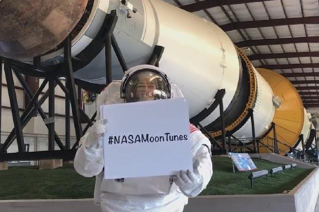 La NASA prepara un playlist para su próximo viaje a la luna