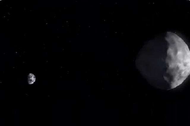 Foto / Twitter @AsteroidWatch
