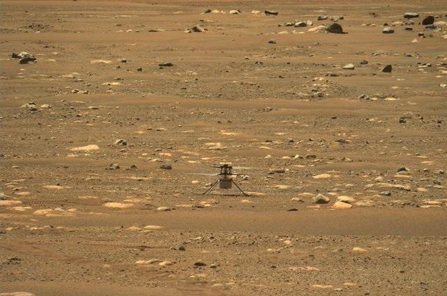 La NASA produce oxígeno respirable en Marte