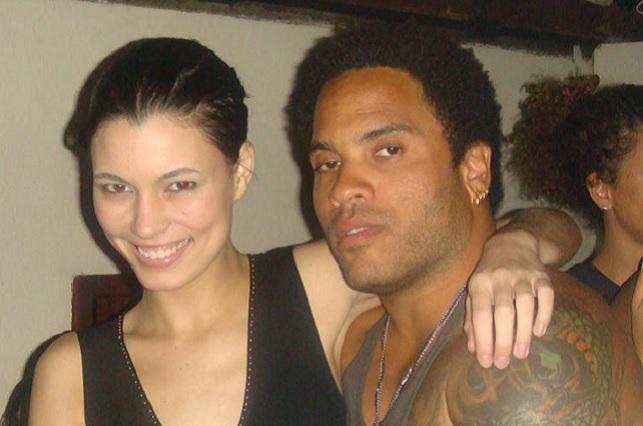 Natália Subtil tiene prohibido hablar de su romance con Lenny Kravitz