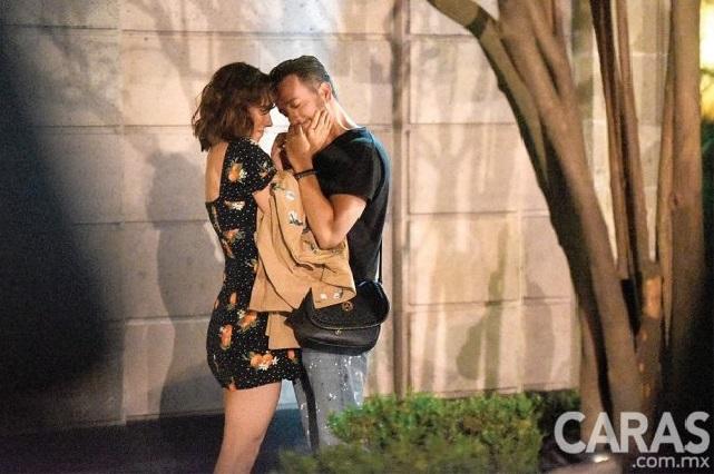 Difunden fotos de los atrevidos besos de Natalia Téllez y Chumel Torres