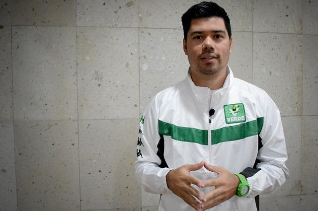 Partido Verde apuesta por una campaña de altura: Jimmy Natale
