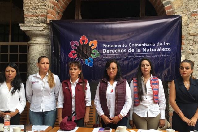 Candidatas de Juntos haremos historia defienden derechos de la naturaleza