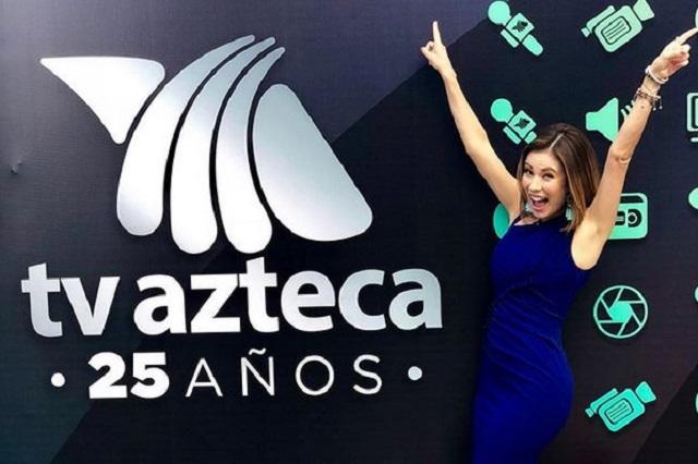 Quitan a Ingrid Coronado de promos navideños de Tv Azteca