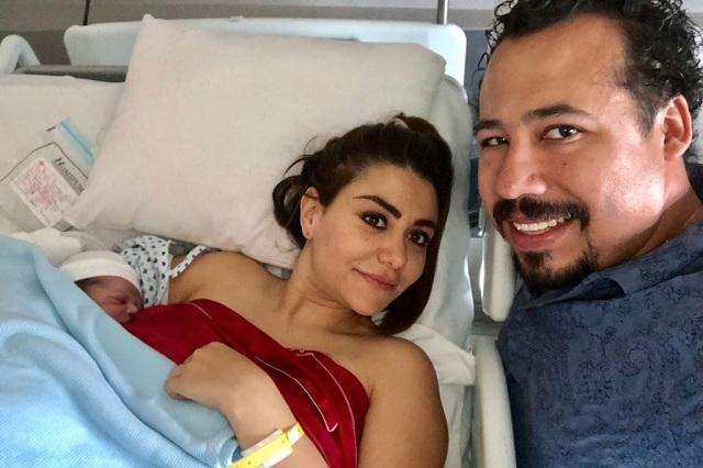 Ya nació bebé de Nay Salvatori y Mario Montero