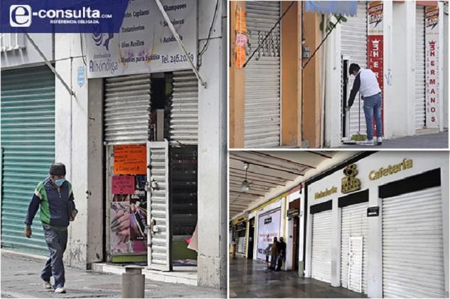 Alistan reapertura del Centro de Puebla para reactivar comercios