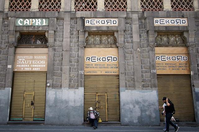 Prevén cierre definitivo de 900 locales del centro de Puebla