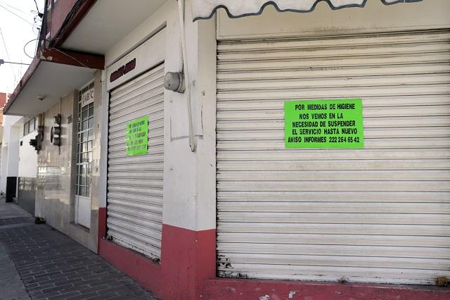 Empleados y micro negocios, otras víctimas del coronavirus en Puebla