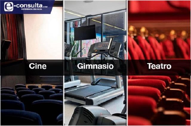 Sin cines, teatros y gimnasios alistan reapertura en Puebla