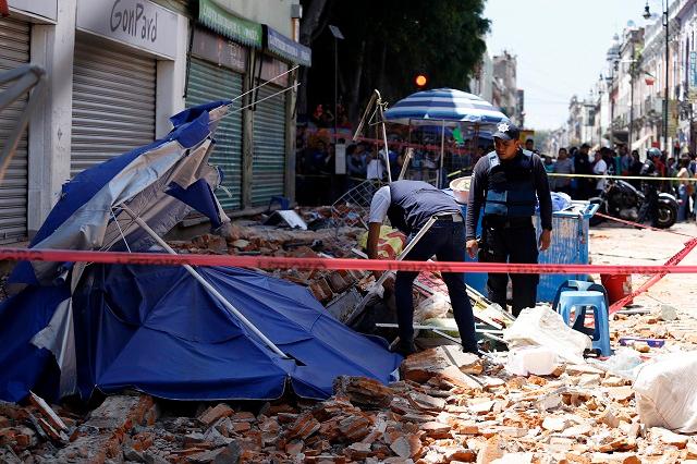 Negocios al corriente recibieron subsidios por daños del sismo